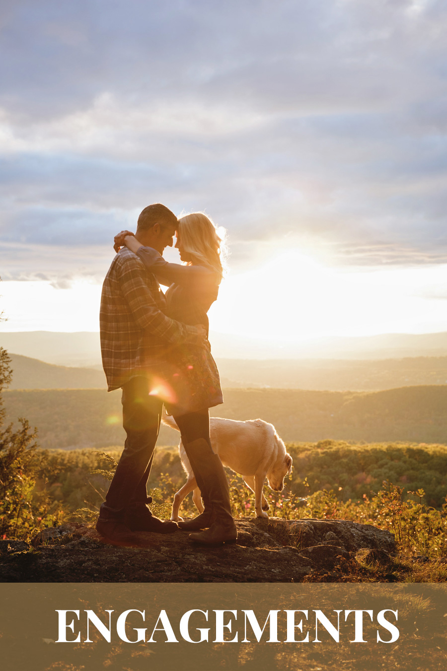 Berkshires Wedding Photography | Engagement Photos by Casey Dawn Photography