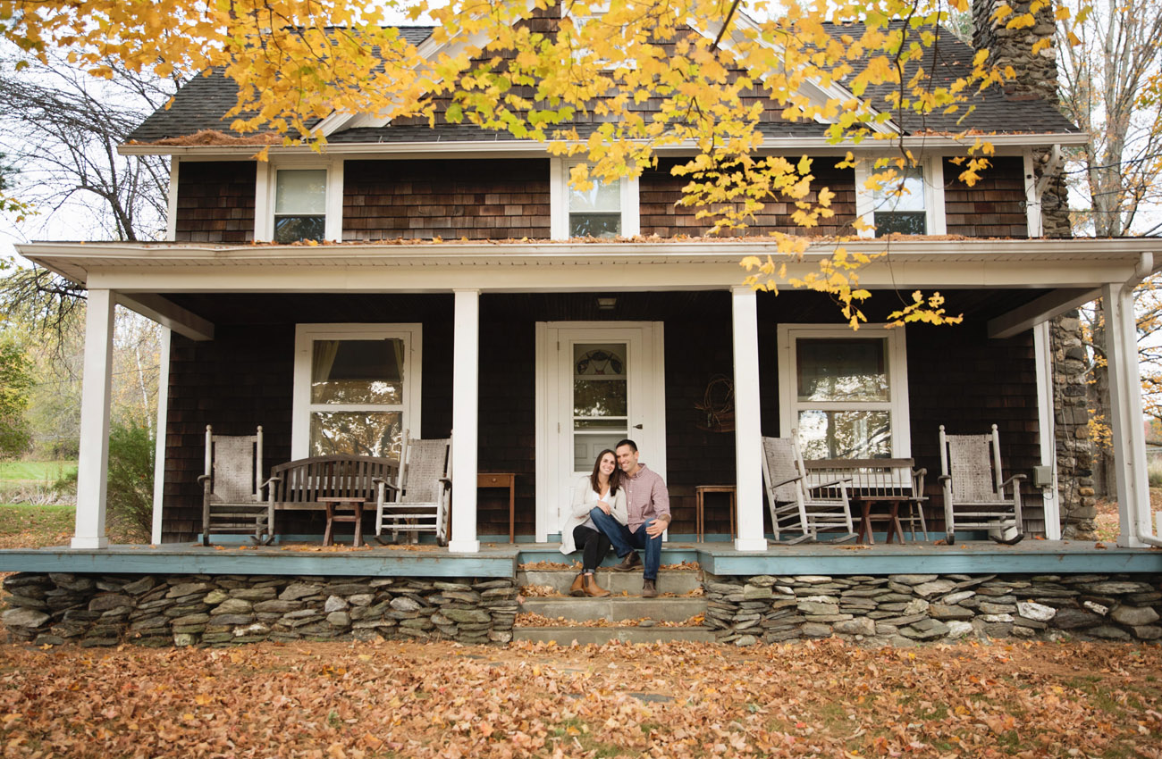 Berkshires Engagement Photos | Casey Dawn Photography